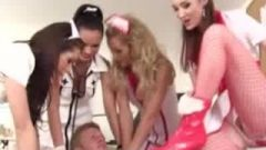 CFNM Teen Nurses Enjoying A Dick