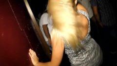 Arousing Upskirt Dance