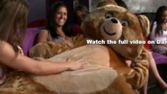DANCING BEAR – Insane CFNM Party With Crazy, Wild Women Going Rough