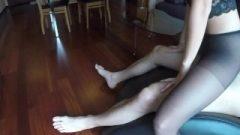 Beautiful MILF Claudia Ruined In Pantyhose