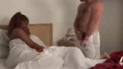 Dude Rubs Off His Tool While Two Ebony Sluts Watch ( Cfnm – Caught/closet )