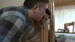 Teens Fantastic Splash Naked Housekeeper