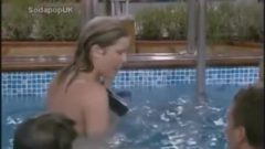 Kate Lawler & Jade Goody Nude In The Pool (rip Jade Goody