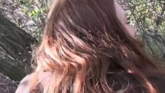 Publicagent Filthy Redhead Ruined Rough Outdoors