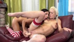 Piss Swallowing Lesbos Tease Each Other With Sextoy