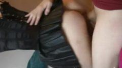 Girlfriend In Kissable Skirt
