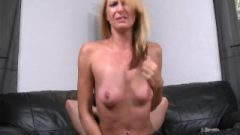 Natural Boobs Golden-haired Levi Stephanie In Crotchless Jeans
