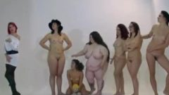 Embarrassed Naked Female Photoshoot