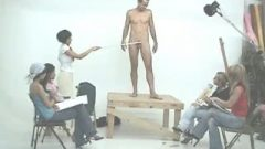 Clothed Female Naked Male Art Class Male Model
